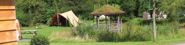 Proefkamperen op camping Meistershof Dwingeloo
